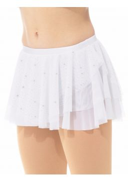 MD6307 Mondor White Glitter Skirt