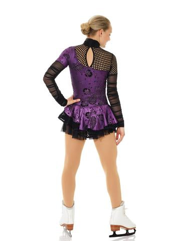 MD12925/17 Purple Punk Dress