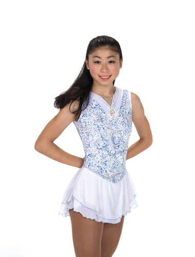 J209/18 White Frost Winterfest Dress