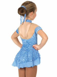 J024/17 Blue Lacy Belle Dress