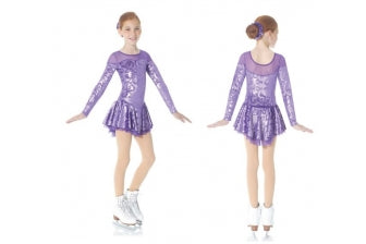 MD2760/16 Purple Dress
