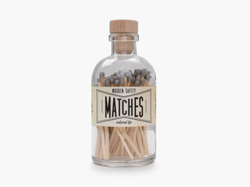 Gray Vintage Apothecary Matches