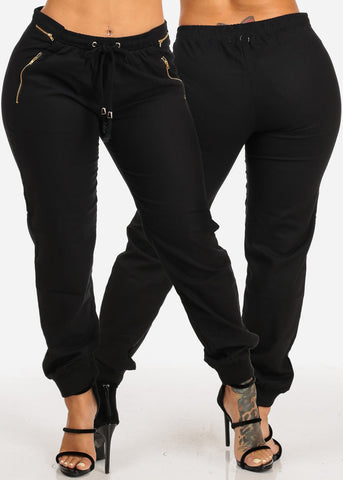 Image of Zipper Accent Pants (3 PACK G52)