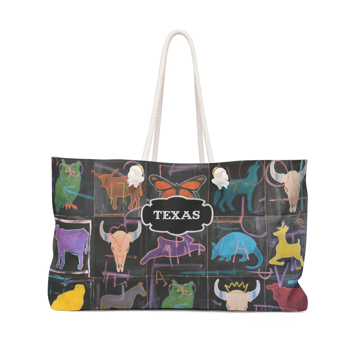 Texas Wildlife tote bag