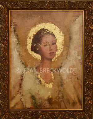 FAITH angel painting  SOLD