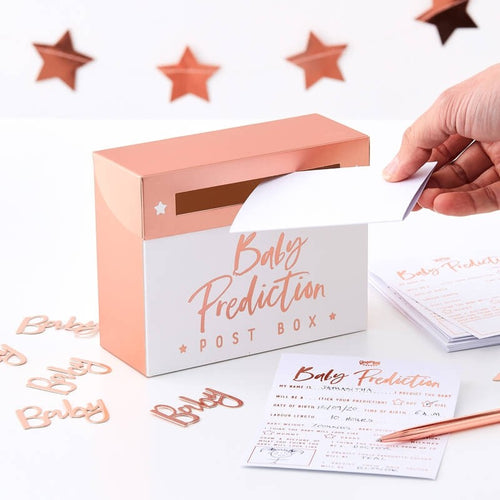 Ginger Ray Baby Shower Prediction Box Game