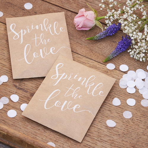 Ginger Ray Sprinkle the Love Tissue Paper Confetti Pouch