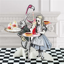 Load image into Gallery viewer, Truly Alice in Wonderland Cake Stands Set of 3