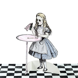 Truly Alice in Wonderland Cake Stands Set of 3