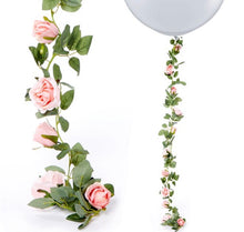 Load image into Gallery viewer, Pink Rose Garland