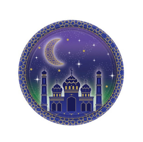 Eid Paper Plates Pack of 8
