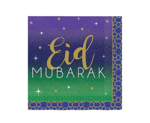 Eid Paper Napkins Pack of 16