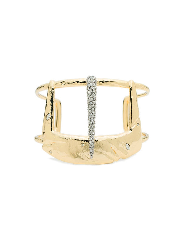 SALE Crystal Buckle Cuff Bracelet
