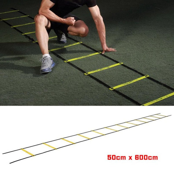 Rung Agility Ladder for Soccer Training