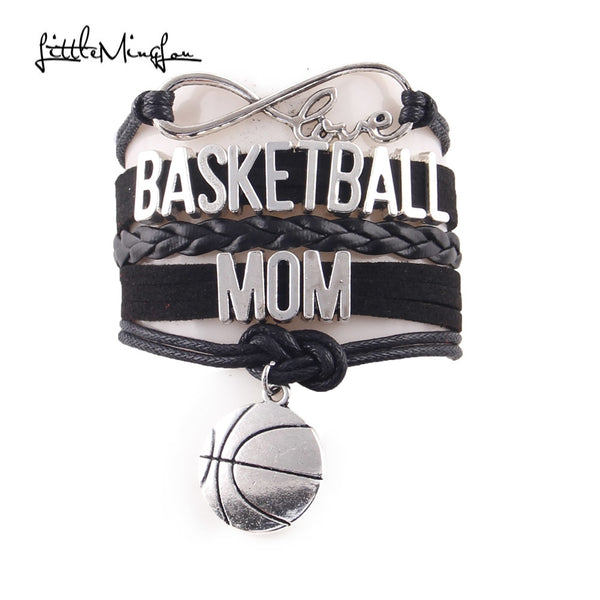 Basketball Mom Infinity Bracelet