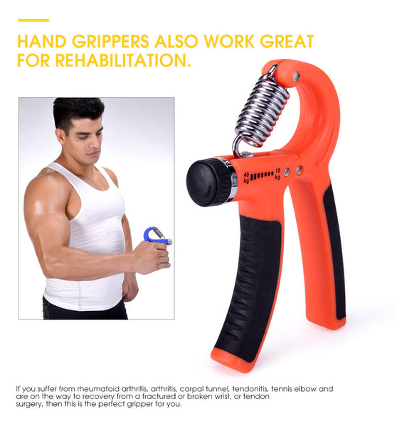 Adjustable Hand Grip Arms Training