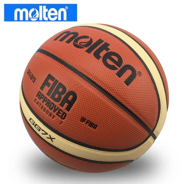 MINSA Size 7 Basketball With Net Bag + Needle