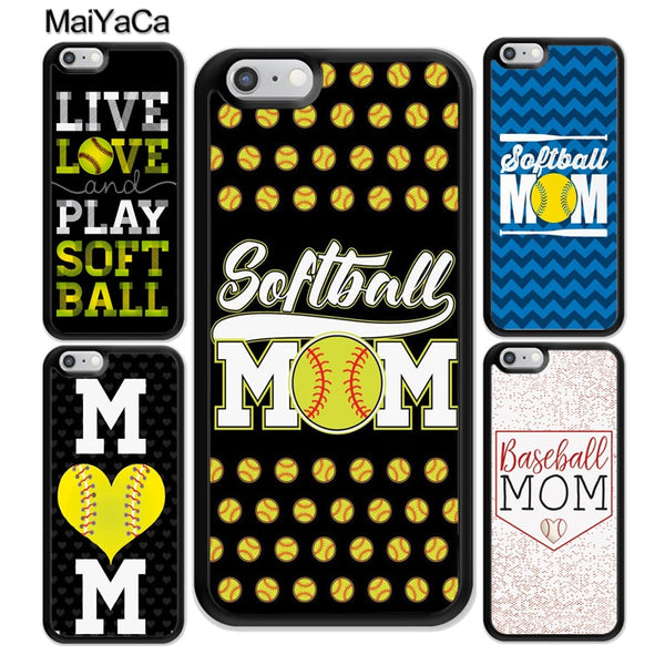 Baseball / Softball Mom iPhone case