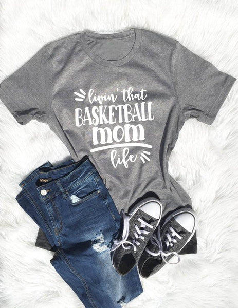 Basketball Mom Life T-Shirt