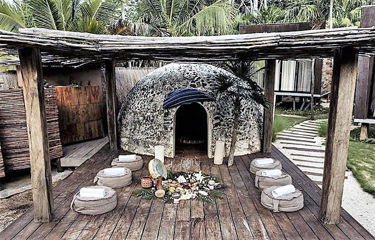 The Wolf In Me - Temazcal Tulum MX - Travel Moments