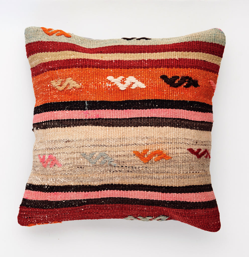 Kilim Pillow - 06 - The Wolf In Me