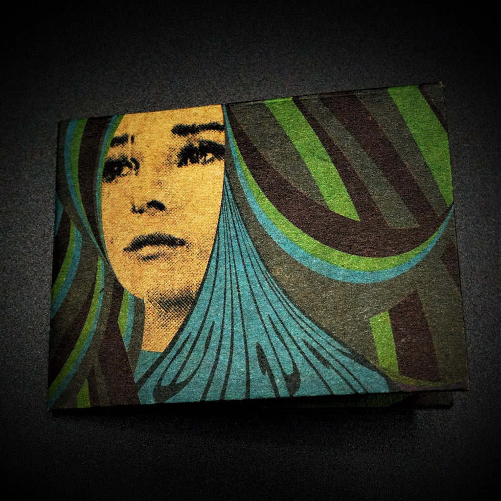 Origami Wallet - Girl - The Wolf In Me