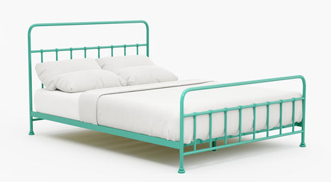 Skye Metal Bed Frame (Indigo)