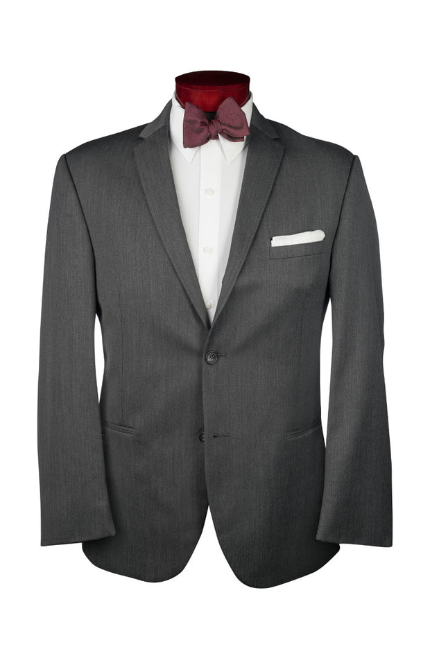 STEEL GREY STERLING WEDDING SUIT - Miguel's Men's Wear