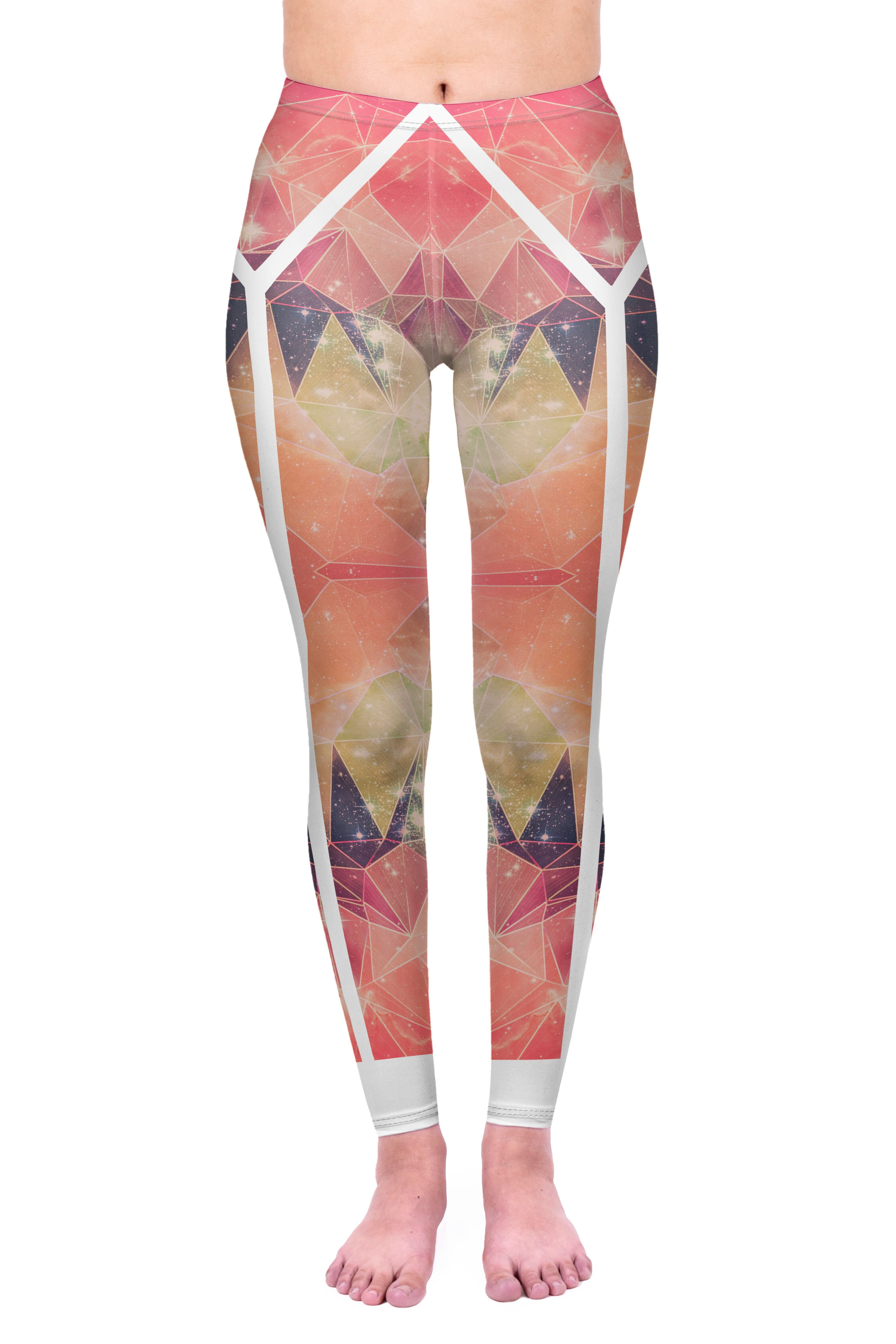 Poly Spandex Leggings-Kukubird_uk
