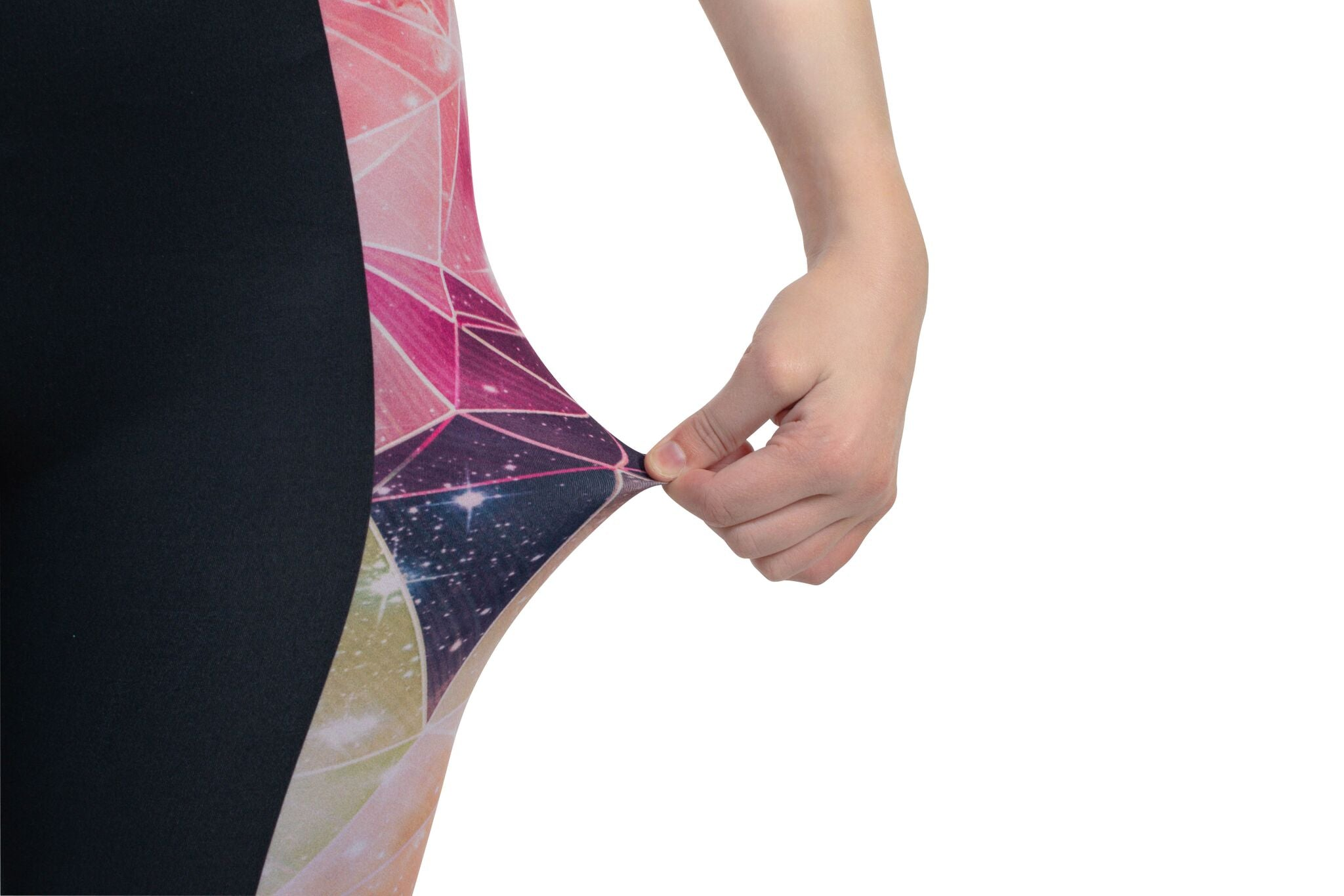 Polyester Spandex Leggings-Kukubird_uk