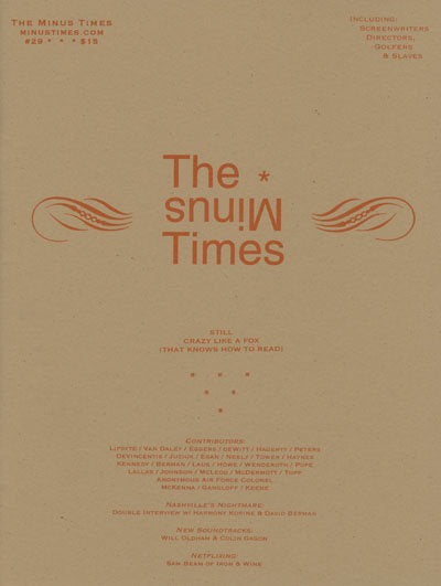 The Minus Times <br> by various