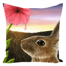 Load image into Gallery viewer, Hare 58 Rabbit Throw Pillow