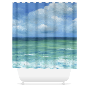 Sea View 273 Shower Curtains
