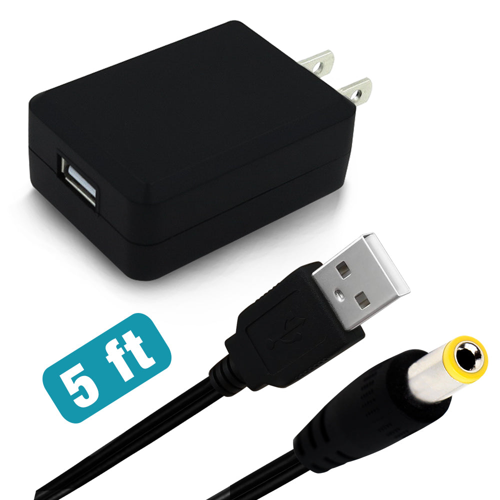 5FT USB CABLE + USB ADAPTER