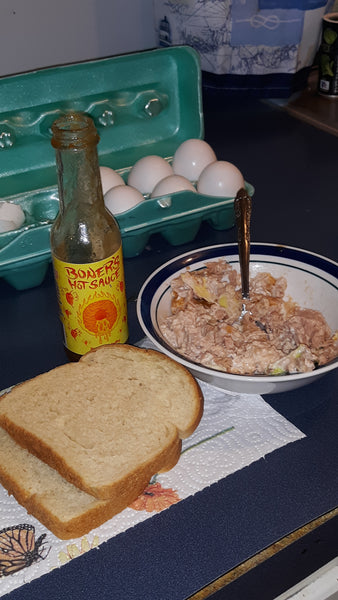 SpiceThings Up With This Tuna Sandwich Recipe Using Boner's Hot Sauce