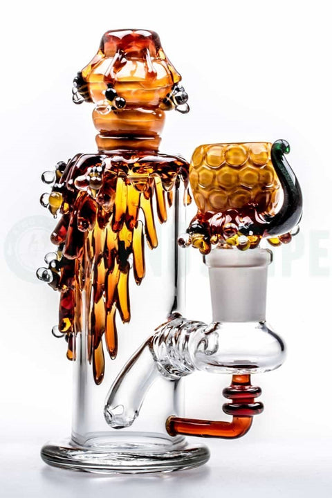 Empire Glassworks - Bee Hive Mini Dab Rig