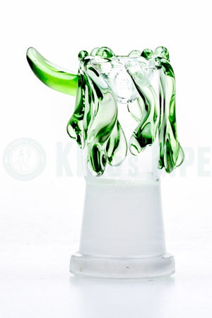 14mm Female Paint Drip Glass Bowl