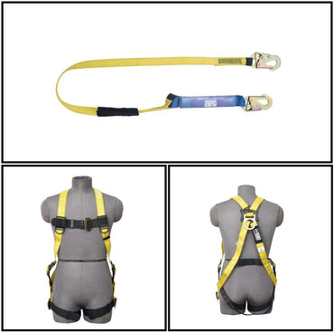 PALMER SAFETY HARNESS KIT COMBO 3PT. - Bridge Fasteners