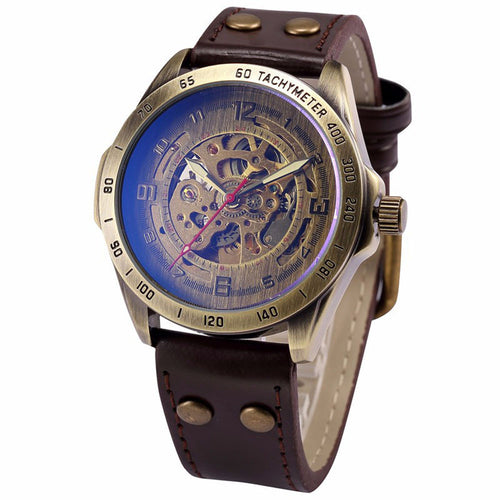 vintage luxury skeleton watch for men SINGAPORE