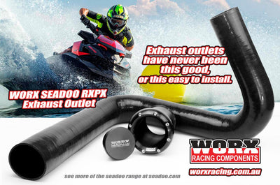 WORX SeaDoo Rear Exit Exhaust