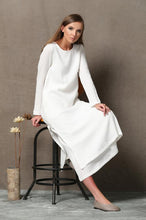 Load image into Gallery viewer, Women linen dress