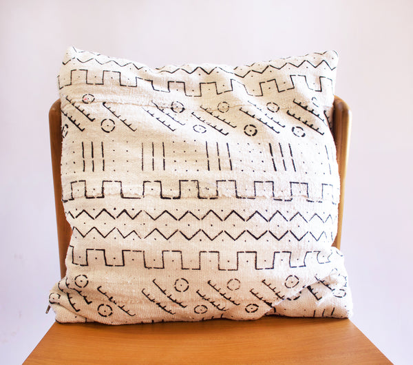 Mudcloth Pillow Hawa