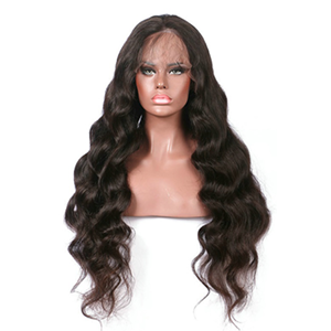 Centre Parting Wig with Lace