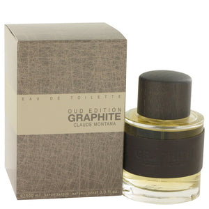 Graphite Oud Edition by Montana Eau De Toilette Spray 3.3 oz for Men