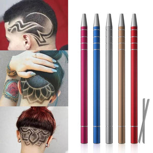Hairstyle Engraving Pen with 10Blade