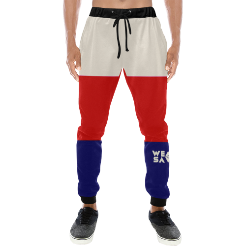 Men's Red, White & Blue Sweatpants