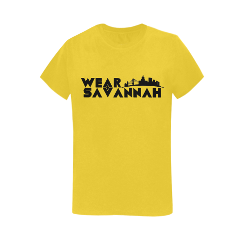 Woman's Wear Savannah T-Shirt (Yellow)