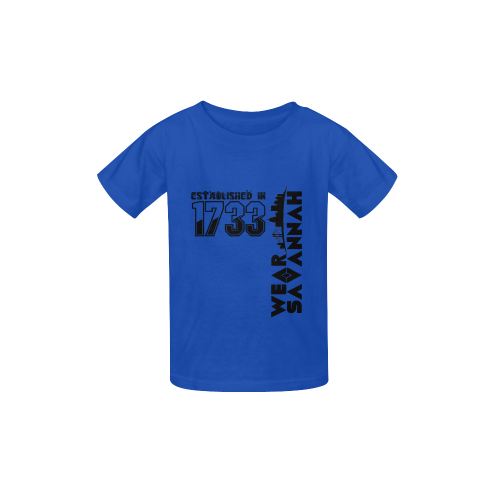 Kid's Established In 1733 Blue T-shirt Kid's