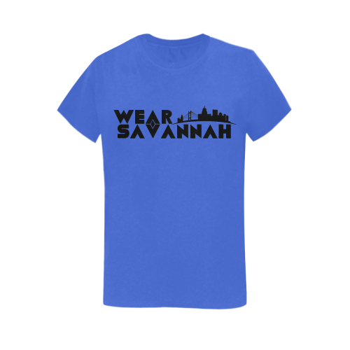 Woman's Wear Savannah T-Shirt (Blue)