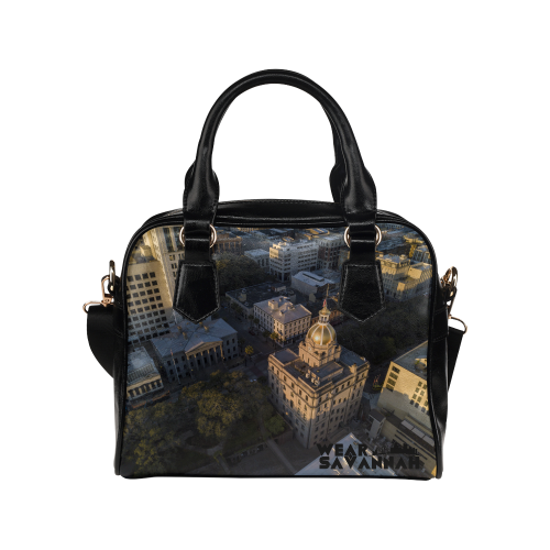 Savannah City Hall Shoulder Handbag